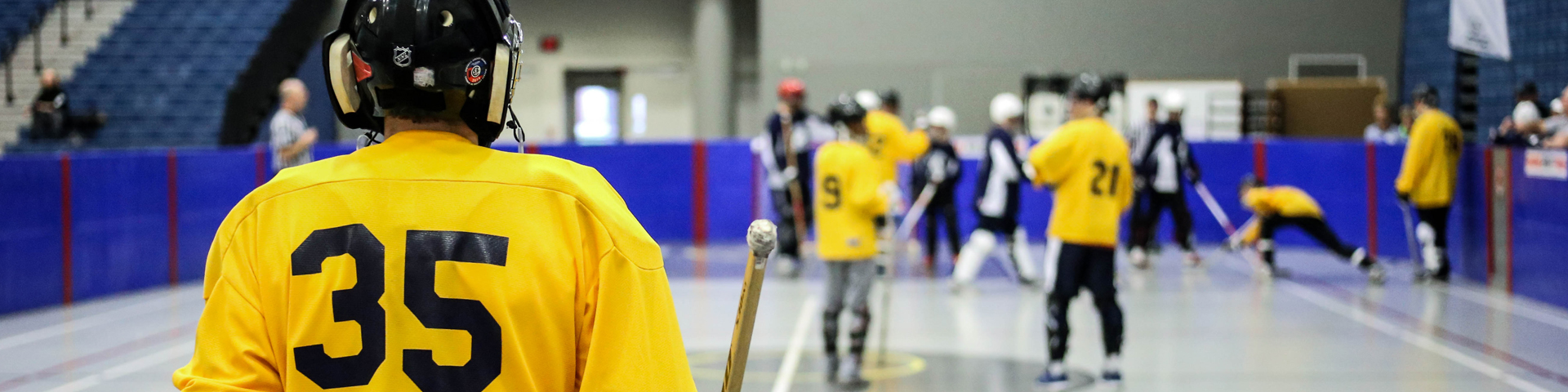 special olympics floor hockey
