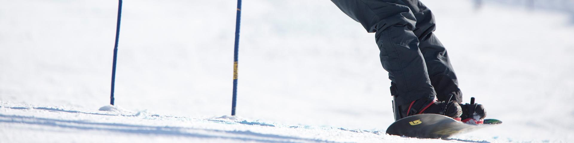 special olympics snowboarding